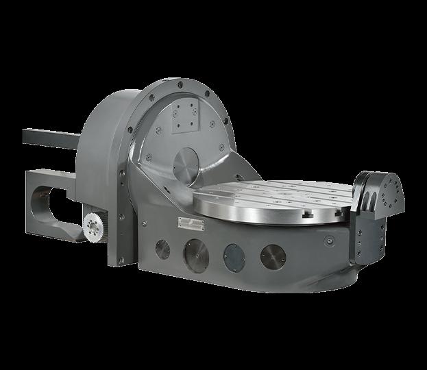 TRNC-500C 傾斜式分度盤 (油壓系統)